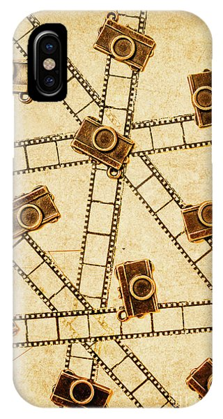 Vintage Camera iPhone Case - The Vintage Photo Gallery by Jorgo Photography - Wall Art Gallery