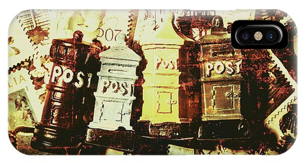 Old Fashioned iPhone Case - The Vintage Postage Card by Jorgo Photography - Wall Art Gallery