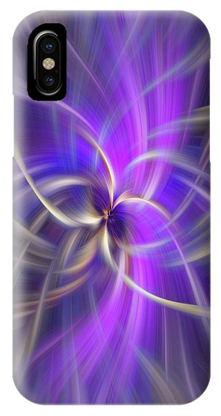 Violet Flame iPhone Case - The Violet Flame. Spirituality by Jenny Rainbow