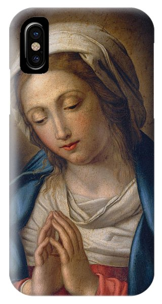 The Virgin At Prayer IPhone Case