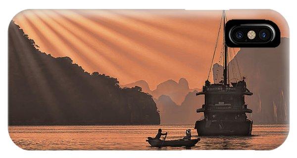 The Voyage Ha Long Bay Vietnam  IPhone Case
