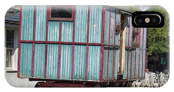 Caravan iPhone Case - The Wagon by Martin Newman