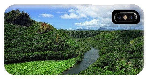 The Wailua River IPhone Case