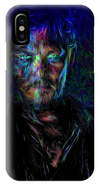 The Walking Dead Daryl Dixon Painted IPhone Case