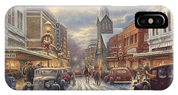 The Warmth Of Small Town Living IPhone Case