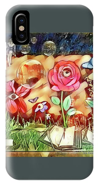 IPhone Case featuring the digital art The Watcher  by Jennifer Page