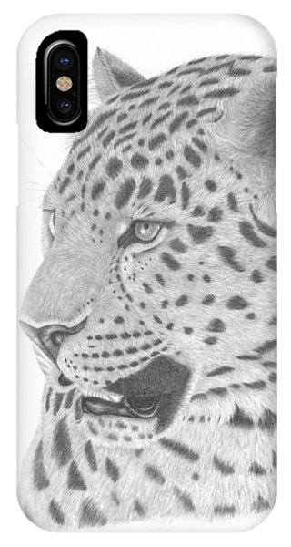 The Watchful Leopard IPhone Case