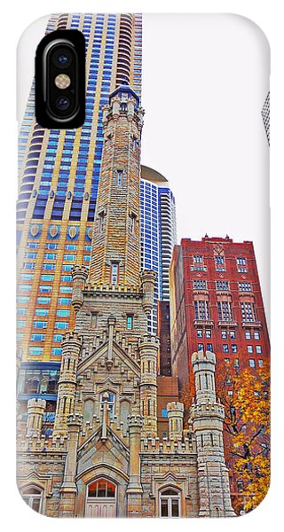 The Water Tower In Autumn IPhone Case