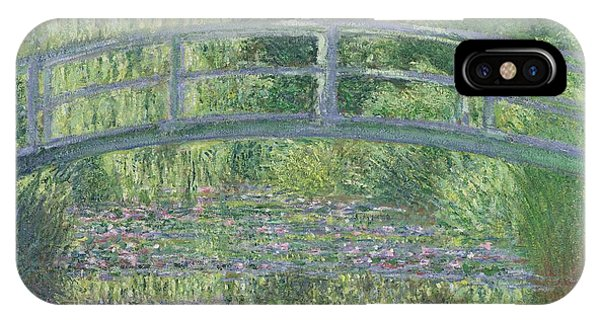 Waterlily iPhone Case - The Waterlily Pond by Claude Monet