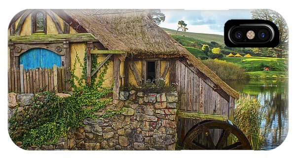The Watermill, Bag End, The Shire IPhone Case