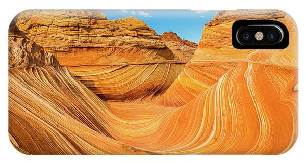 Beautiful Sunrise iPhone Case - The Wave by Edgars Erglis