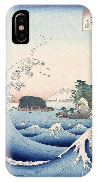 Tidal Waves iPhone Case - The Wave by Hiroshige