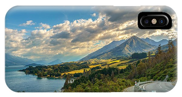 The Way To Glenorchy IPhone Case