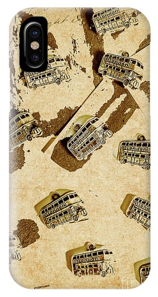 1950s iPhone Case - The Weathered Downtown by Jorgo Photography - Wall Art Gallery
