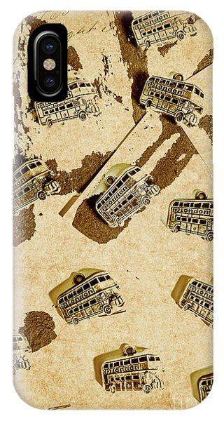 Vehicles iPhone Case - The Weathered Downtown by Jorgo Photography - Wall Art Gallery