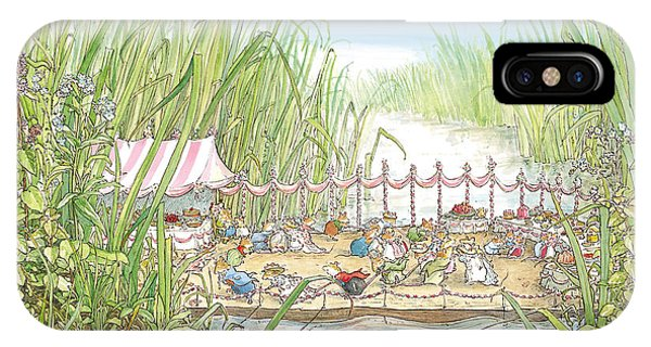 Coloured Pencil iPhone Case - The Wedding Party by Brambly Hedge