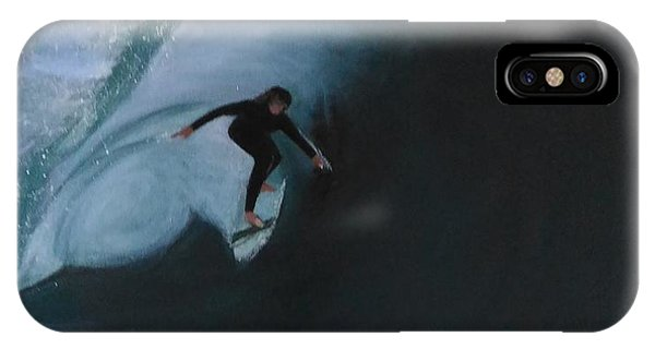 The Wedge - Shoot The Curl IPhone Case