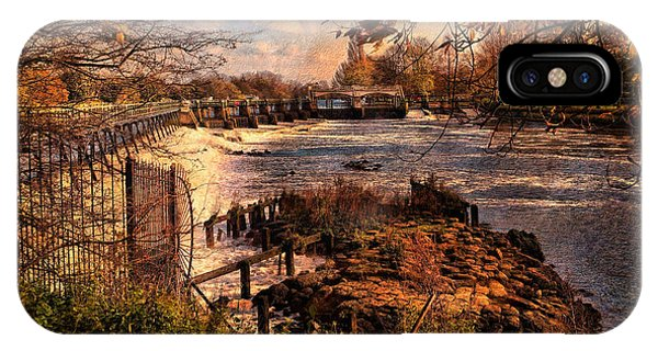The Weir At Teddington IPhone Case