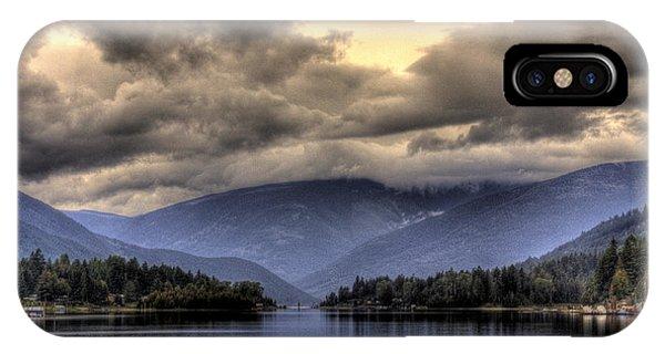 The West Arm Of Kootenai Lake IPhone Case