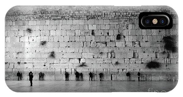 The Western Wall, Jerusalem 2 IPhone Case