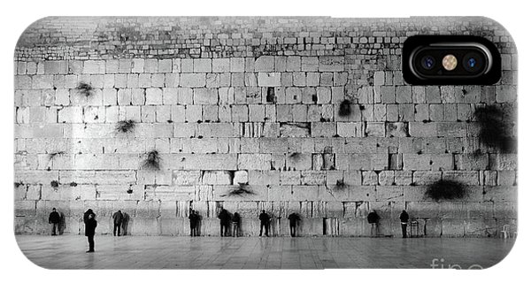 The Western Wall, Jerusalem 2 IPhone Case