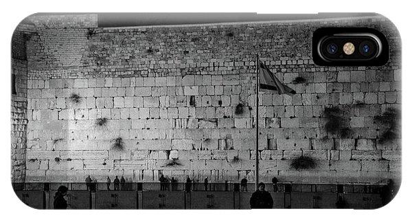 The Western Wall, Jerusalem IPhone Case
