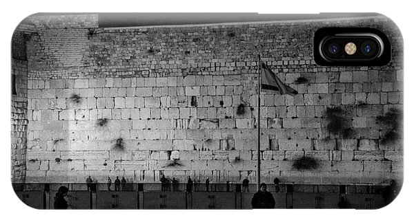 The Western Wall, Jerusalem IPhone Case