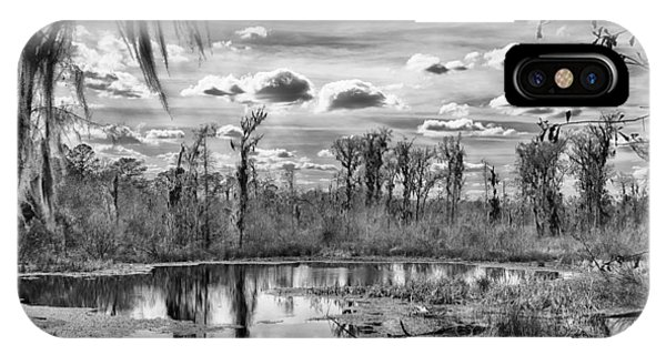 IPhone Case featuring the photograph The Wetlands by Howard Salmon