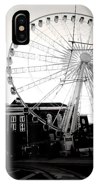 The Wheel Black And White IPhone Case