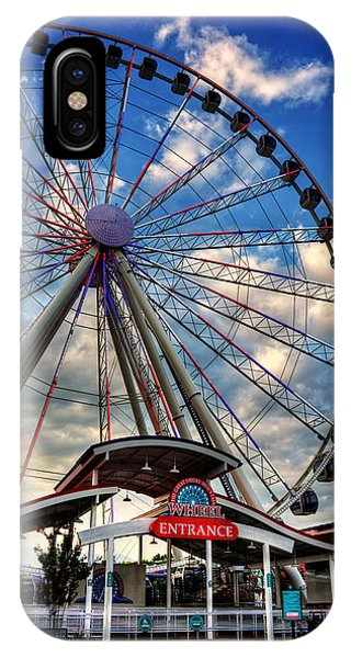 The Wheel Entrance IPhone Case