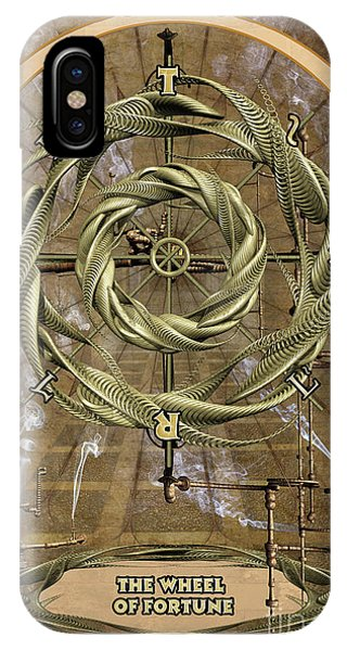 Destiny iPhone Case - The Wheel Of Fortune by John Edwards
