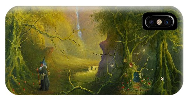 The Whispering Wood IPhone Case