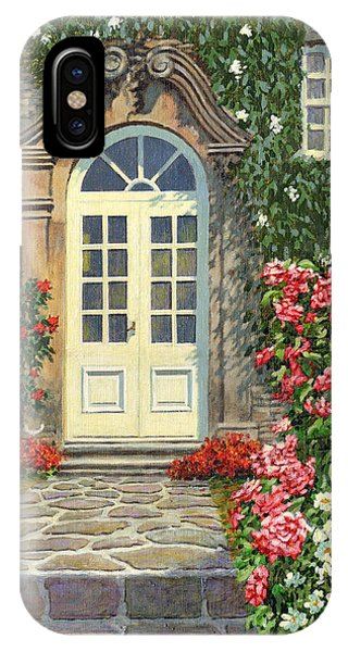 The White Door IPhone Case