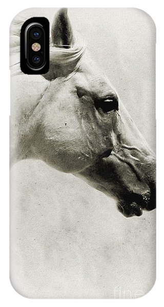 The White Horse IIi - Art Print IPhone Case