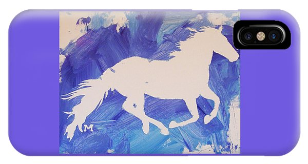 The White Horse IPhone Case