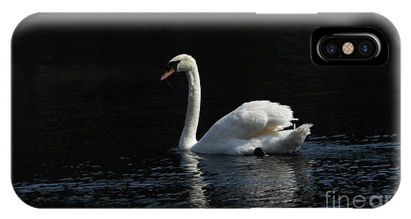 The White Swan IPhone Case