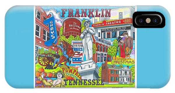 The Who, What And Where Of Franklin, Tennessee IPhone Case