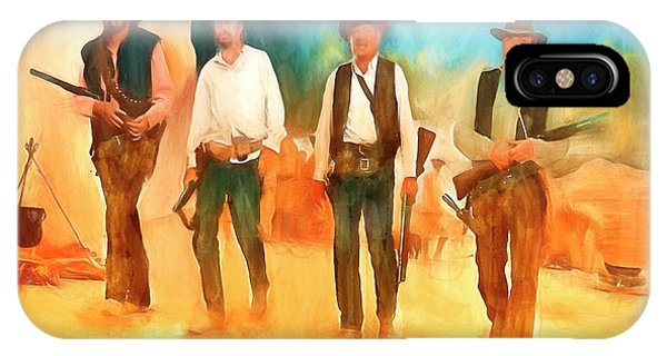 The Wild Bunch IPhone Case