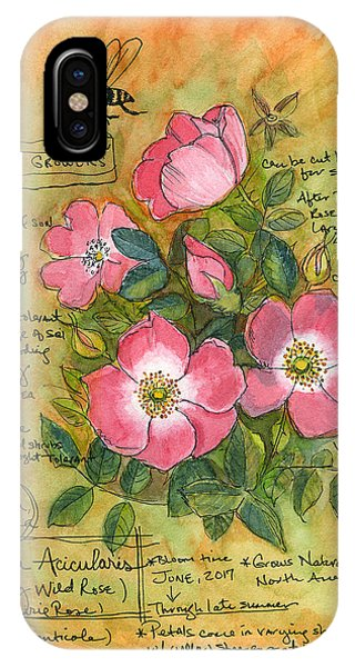 The Wild Rose IPhone Case