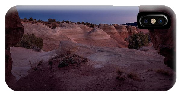 IPhone Case featuring the photograph The Window In Desert by Edgars Erglis