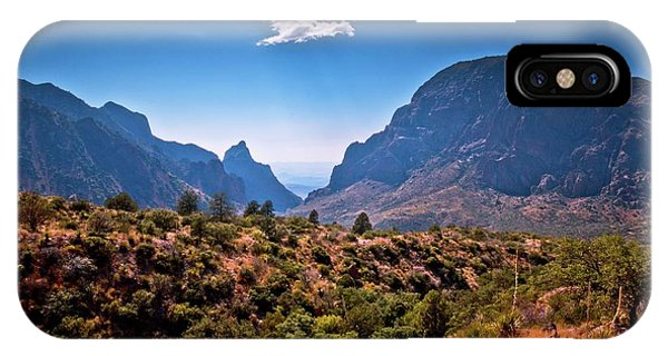 Middle Of Nowhere iPhone Case - The Window In The Chisos Mountains by Linda Unger