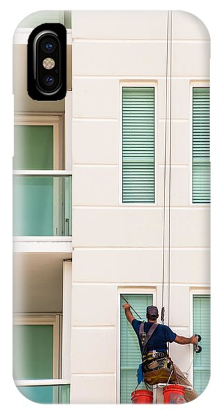 The Window Washer IPhone Case