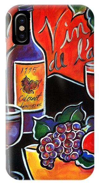 The Wine Of Love IPhone Case