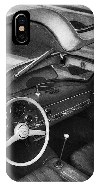 IPhone Case featuring the photograph The Wings Of A Mercedes Gullwing by Dirk Jung
