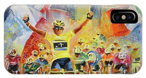 The Winner Of The Tour De France IPhone Case