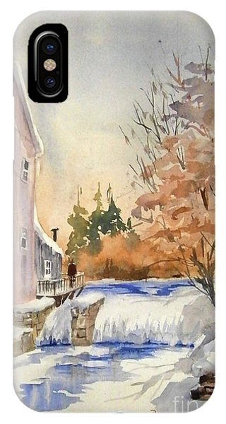 The Winter Mill IPhone Case