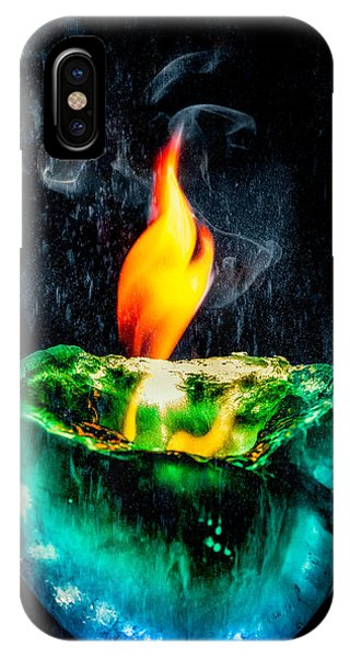 The Winter Of Fire And Ice IPhone Case