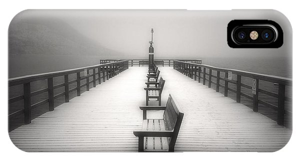 The Winter Pier IPhone Case