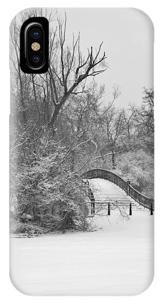 The Winter White Wedding Bridge IPhone Case