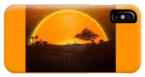 The Wisdom Tree IPhone Case